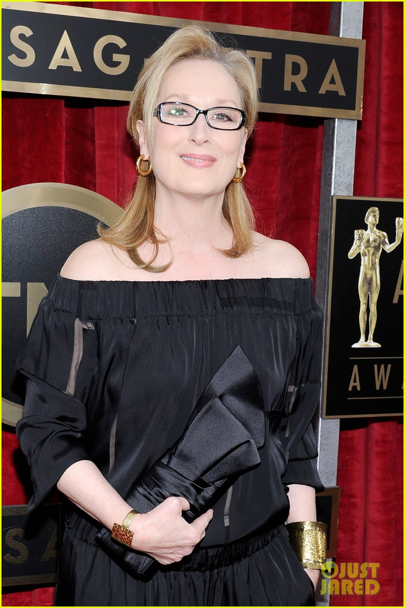 meryl streep sag awards 2014 red carpet 04