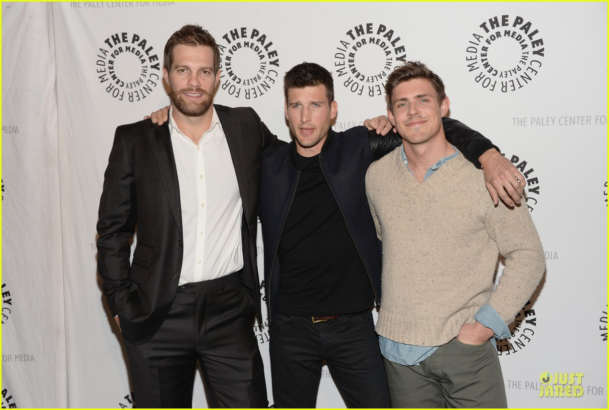 geoff stults chris lowell enlisted la premiere 153025133