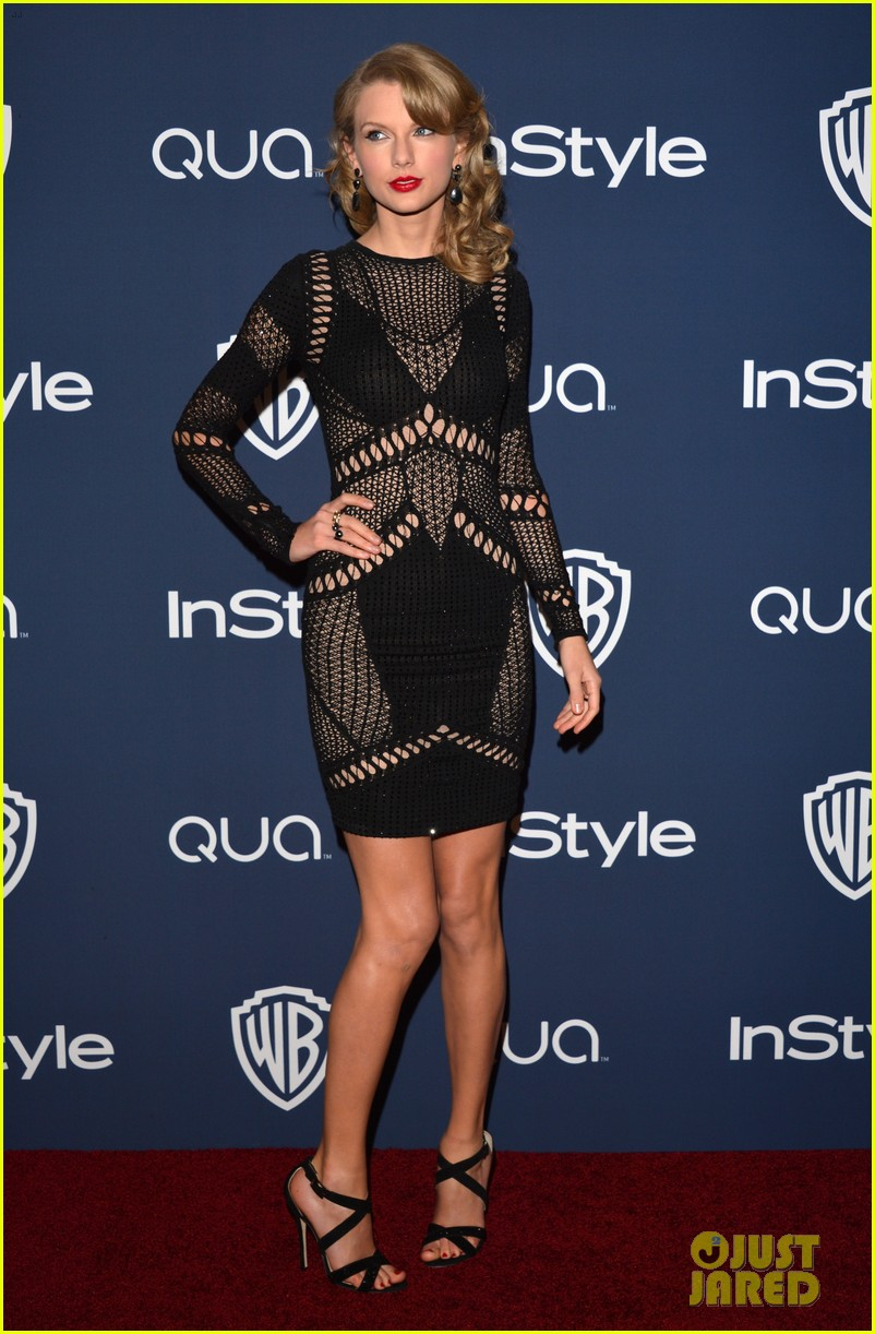 taylor swift instyle weinsteins golden globes parties 2014 013029853