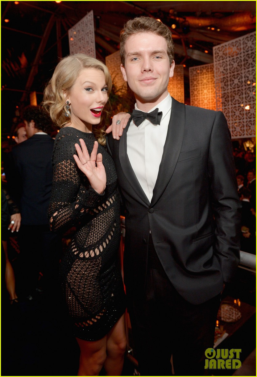 taylor swift instyle weinsteins golden globes parties 2014 053029857