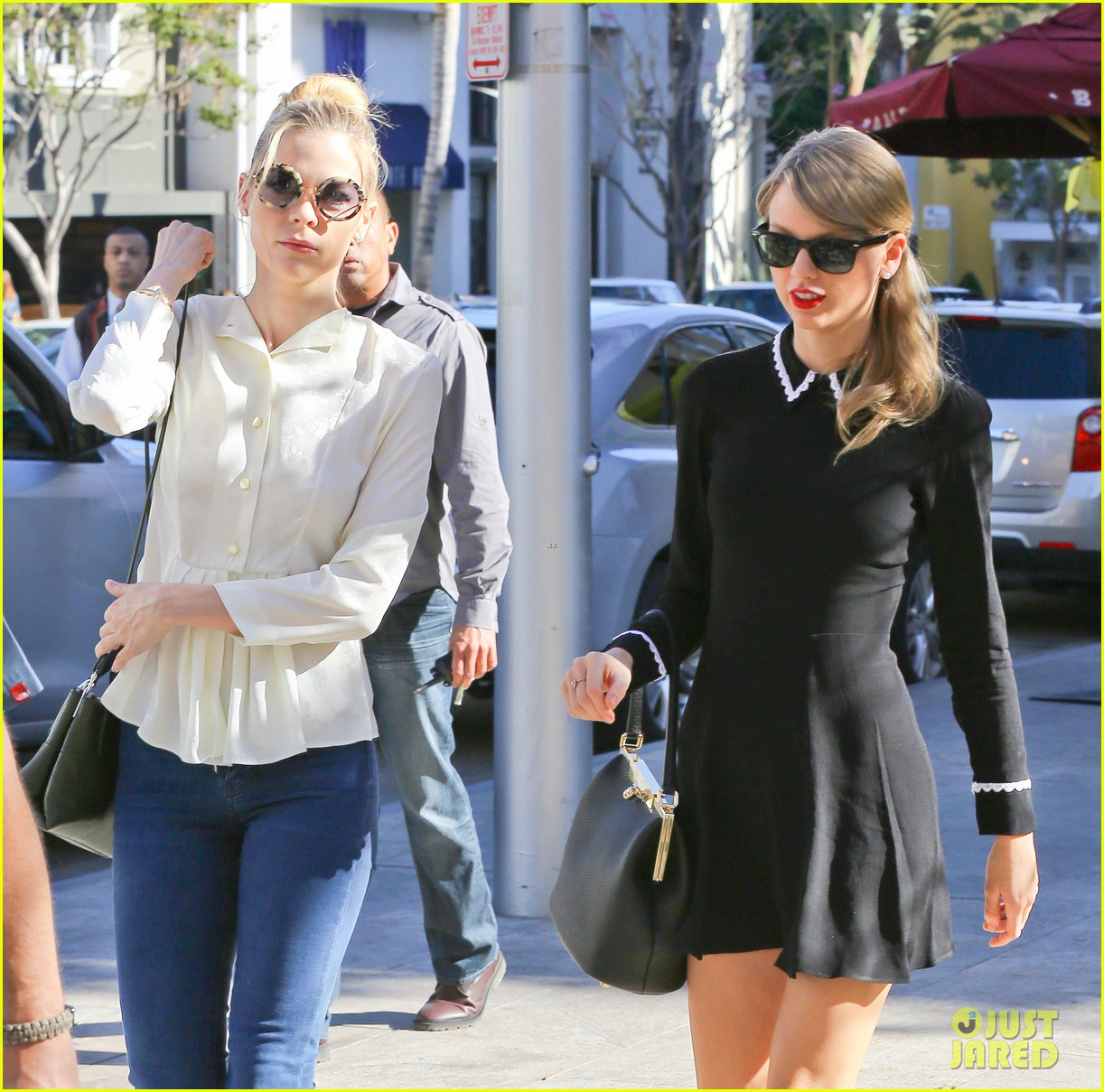 taylor swift bouchon lunch with new friend jaime king 123036480