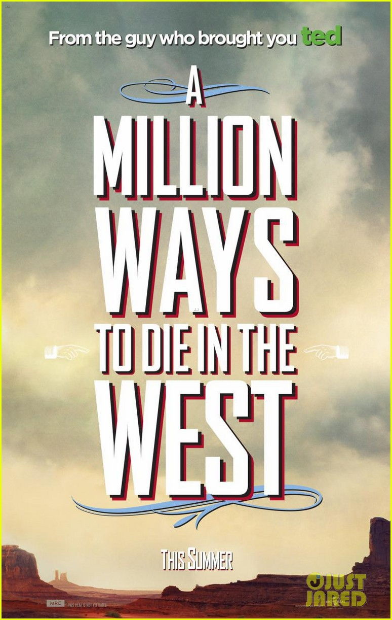 charlize theron is the smoking gun on million ways to die in the west character posters 063043712