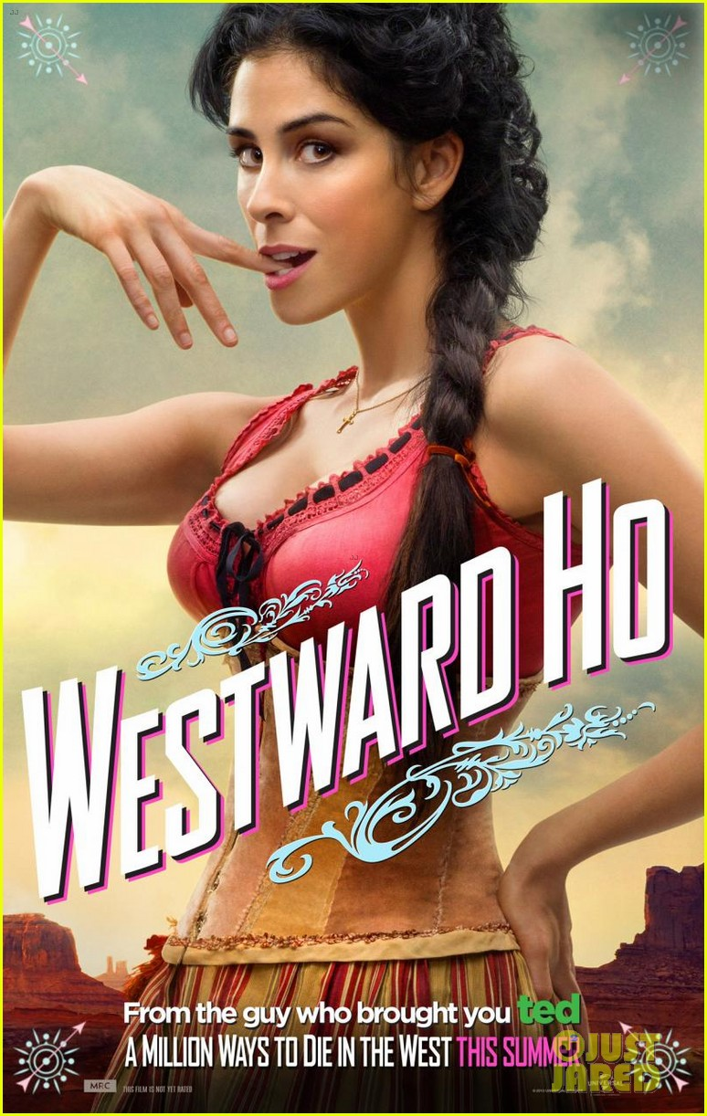 charlize theron is the smoking gun on million ways to die in the west character posters 083043714
