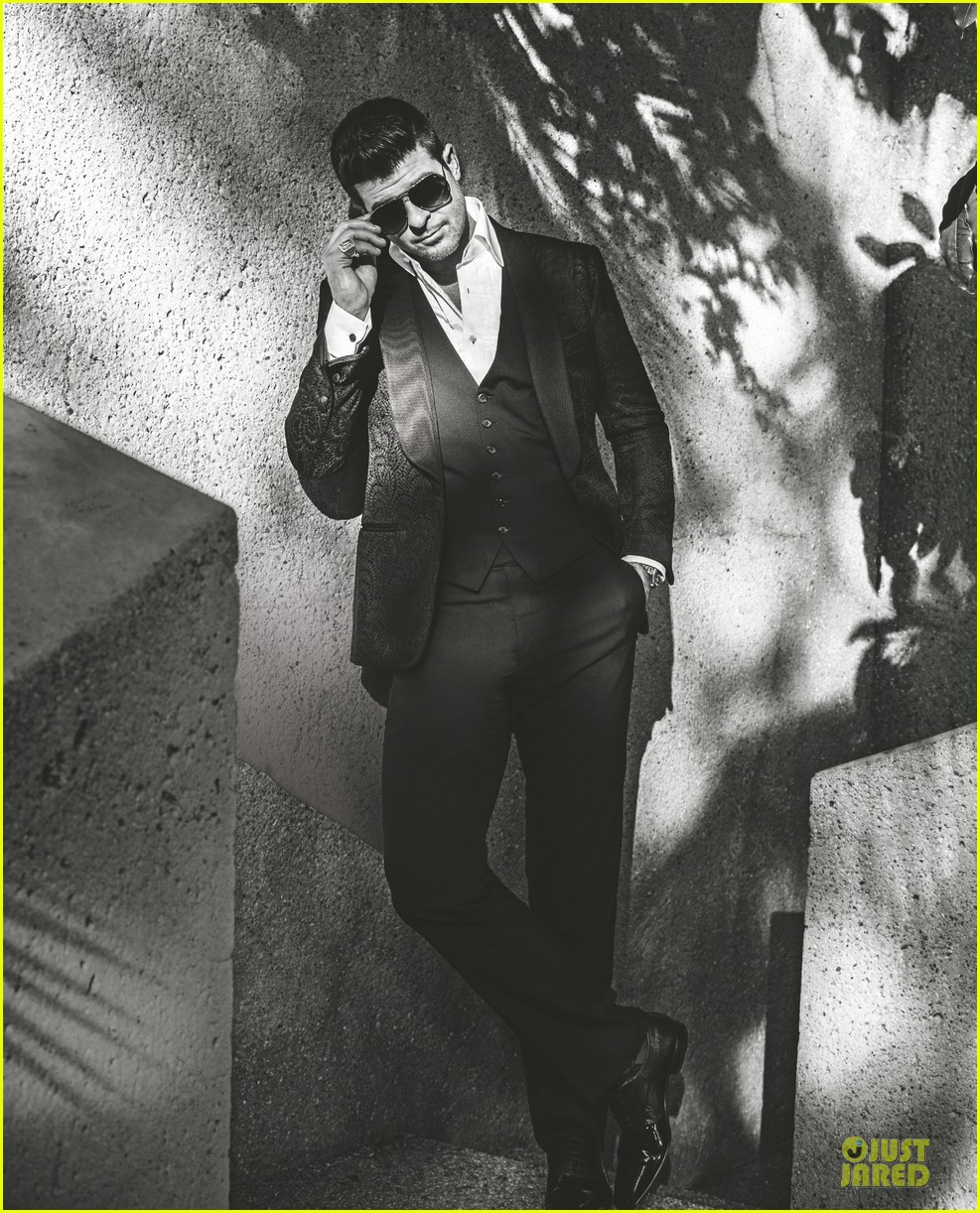 robin thicke covers la confidential grammy issue 013022144