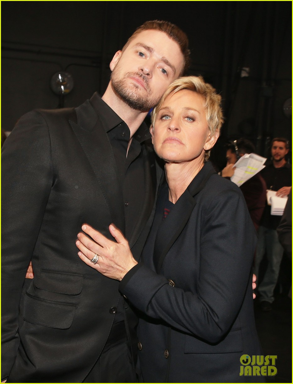 justin timberlakes peoples choice award almost stolen by ellen degeneres 033025615