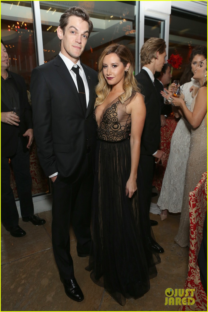 ashley tisdale nikki reed golden globes after parties 2014 183030126