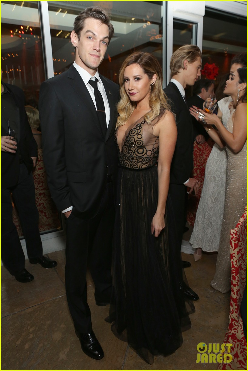 ashley tisdale nikki reed golden globes after parties 2014 203030128