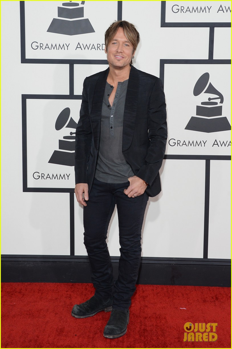 keith urban grammys 2014 red carpet 023041158