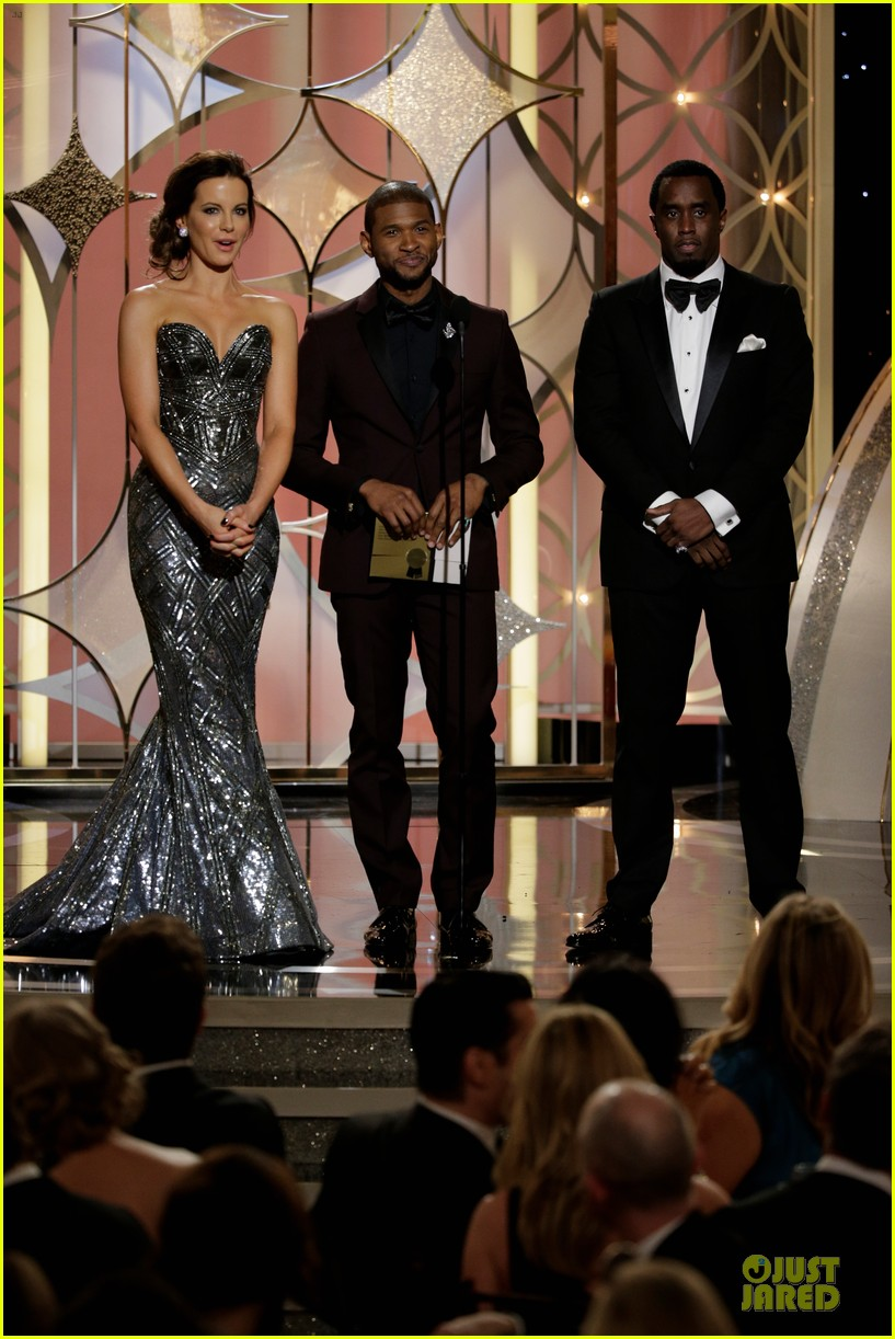 usher sean combs golden globes 2014 presenters 013029743
