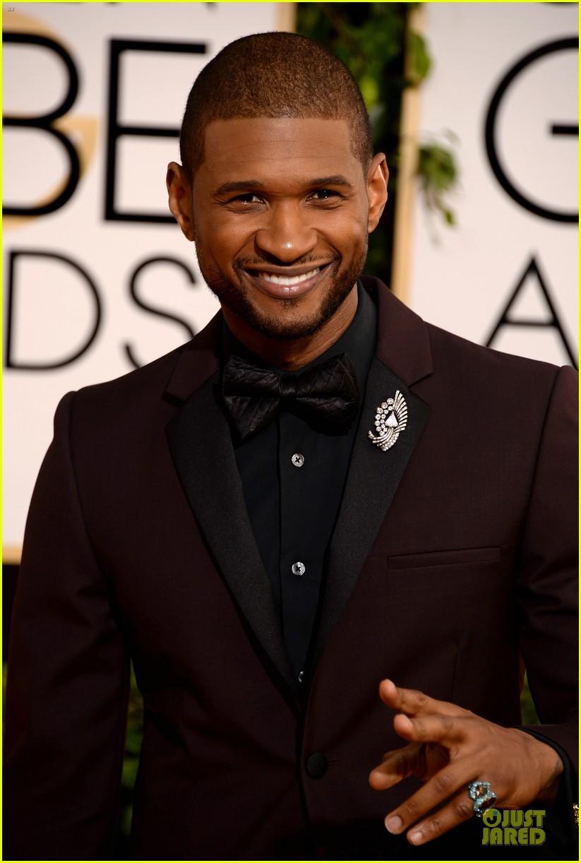 Usher Sean Combs Golden Globes 2014 Presenters Photo 3029750