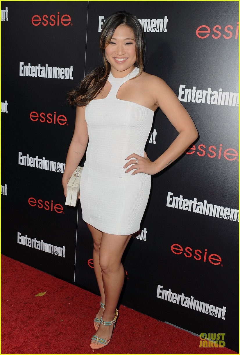 jenna ushkowitz alex newell ew sag nominees party 153034197