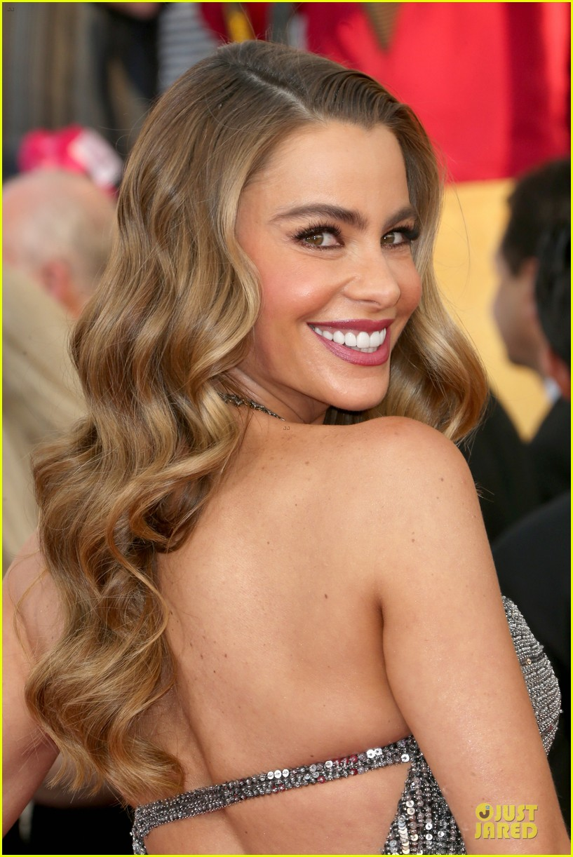 sofia vergara julie bowen sag awards 2014 red carpet 133034708
