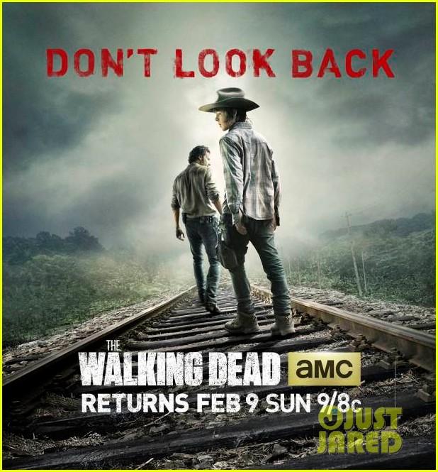 walking dead season 4 new poster dont look back 01.3021526