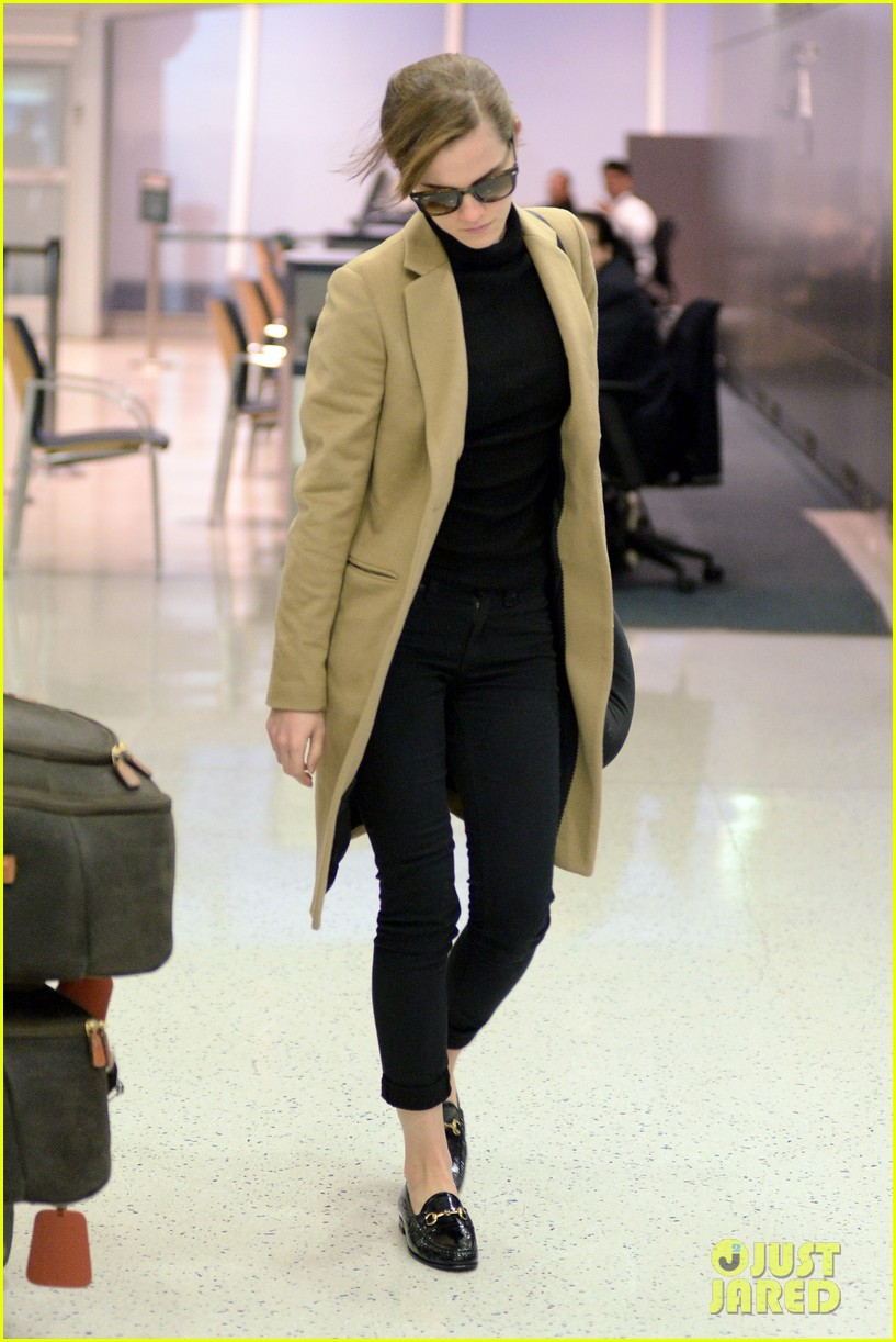 emma watson leaves new york city after quick trip 083037680