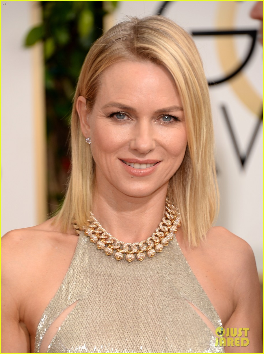 naomi watts liev schreiber golden globes 2014 red carpet 043029159