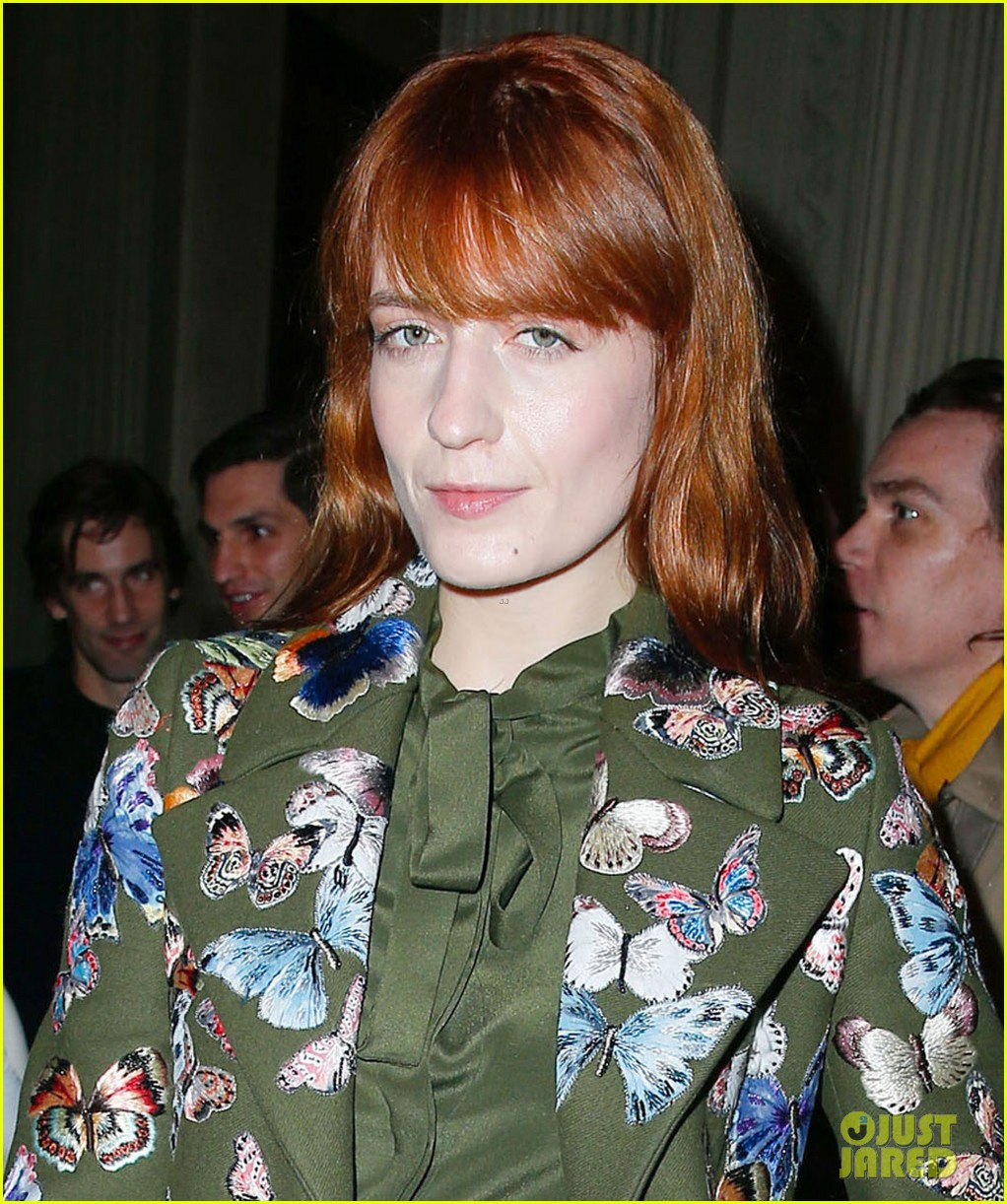 florence welch valentino fashion show in paris 043038932