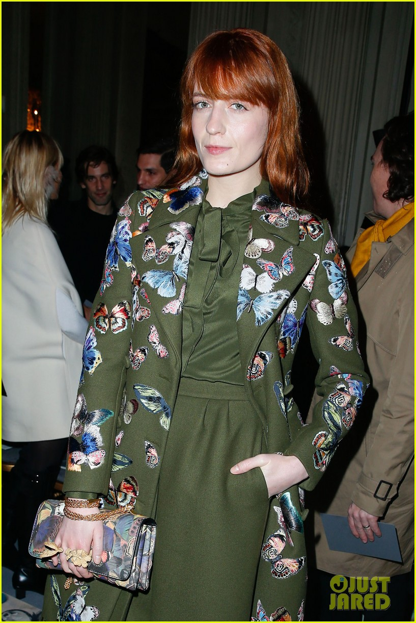 florence welch valentino fashion show in paris 063038934