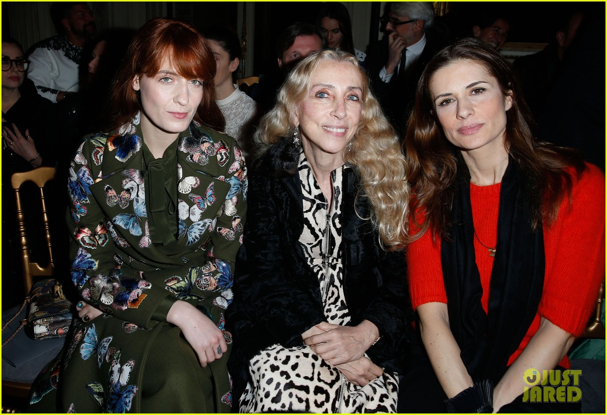 florence welch valentino fashion show in paris 103038938