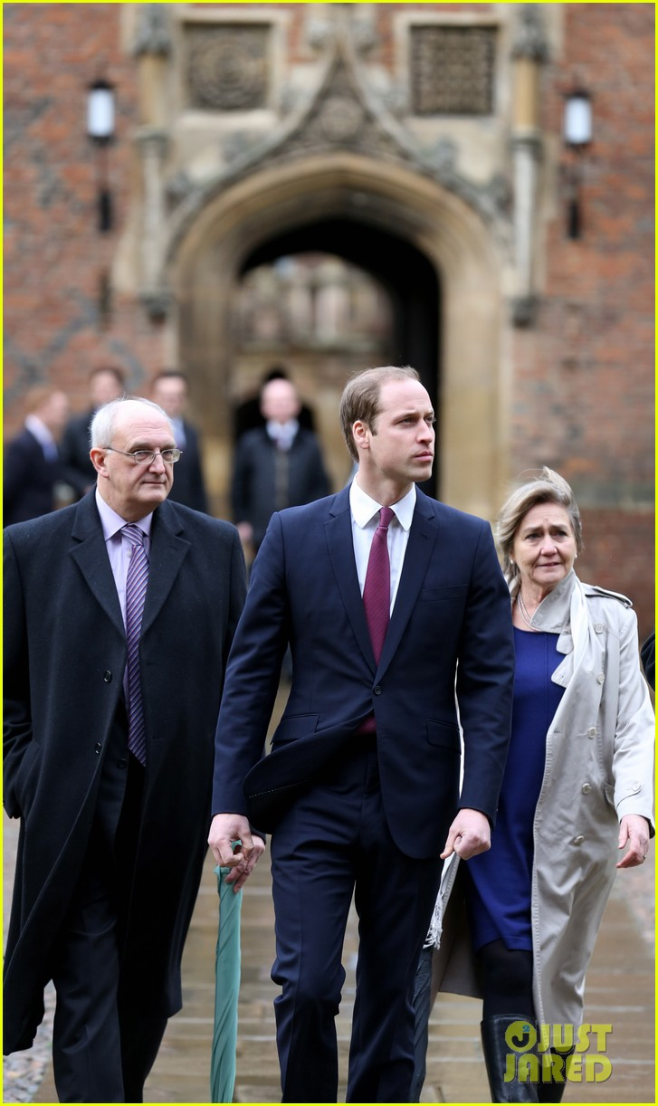 prince william first day of school at cambridge 043024507