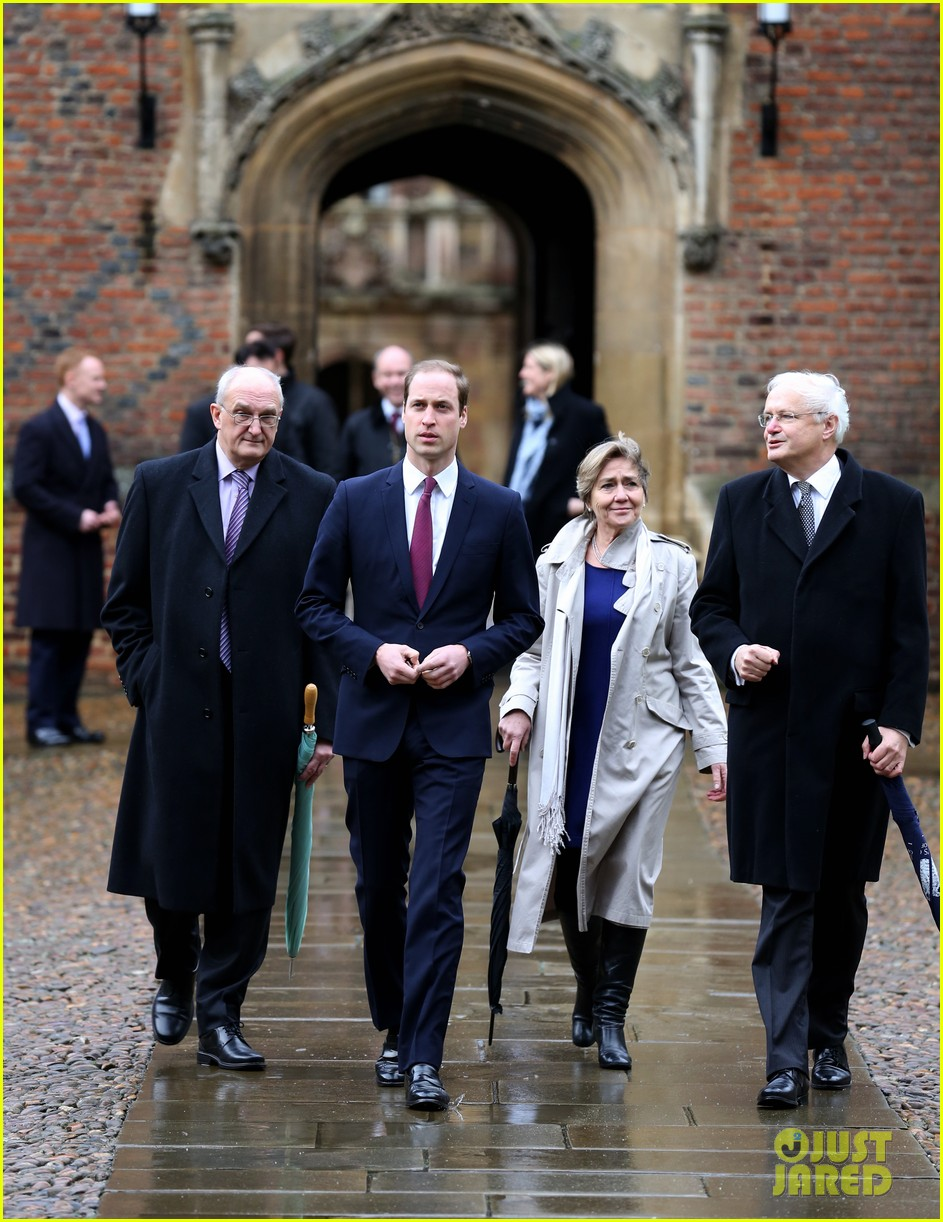 prince william first day of school at cambridge 053024508