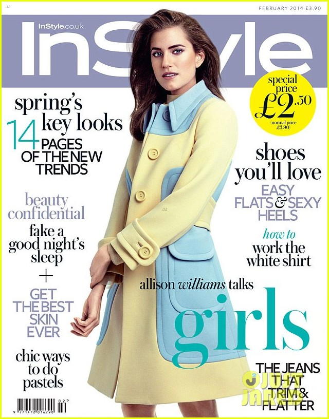 allison williams covers instyle uk february 2014 023021623