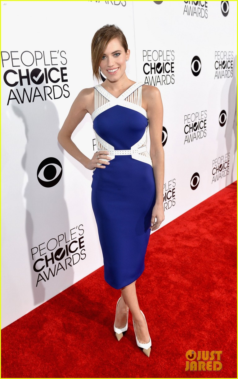 allison williams peoples choice awards 2014 red carpet 013025512