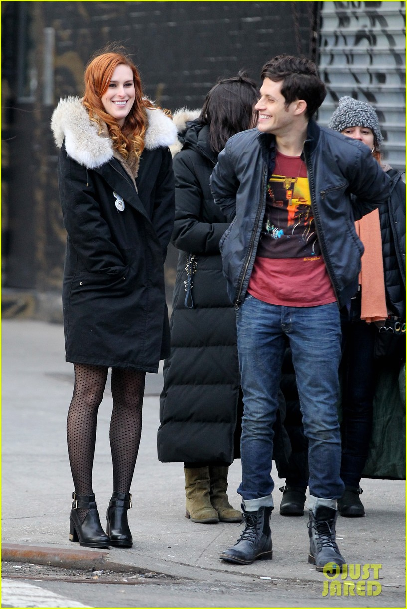 rumer willis begins filming songbyrd in new york city 03
