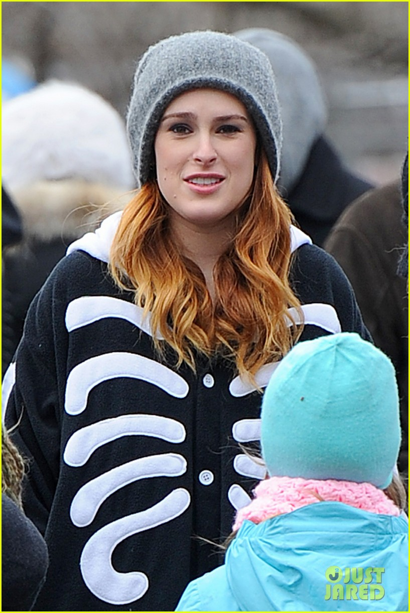 rumer willis wears skeleton onesies for songbyrd 033037161