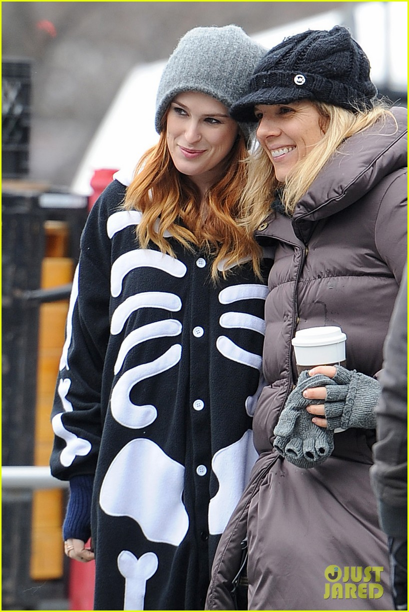 rumer willis wears skeleton onesies for songbyrd 093037167