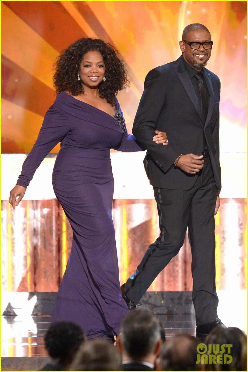oprah winfrey forest whitaker sag awards 2014 red carpet 013034825