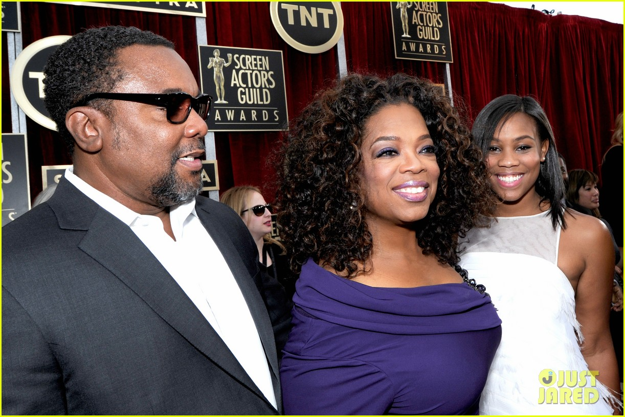 oprah winfrey forest whitaker sag awards 2014 red carpet 073034831