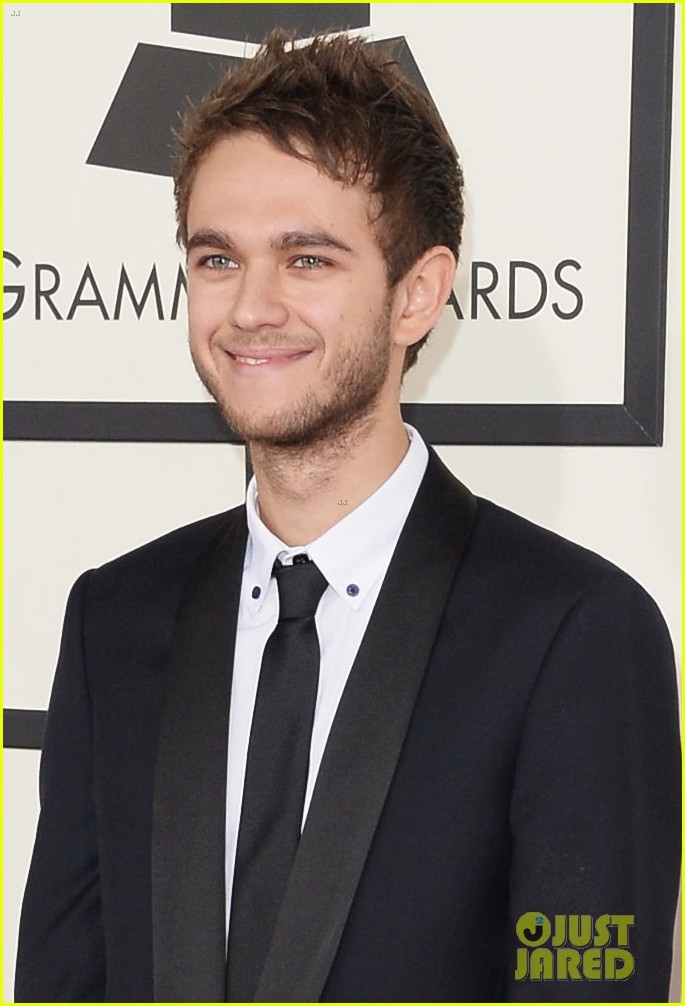 zedd foxes grammys 2014 red carpet 023040862