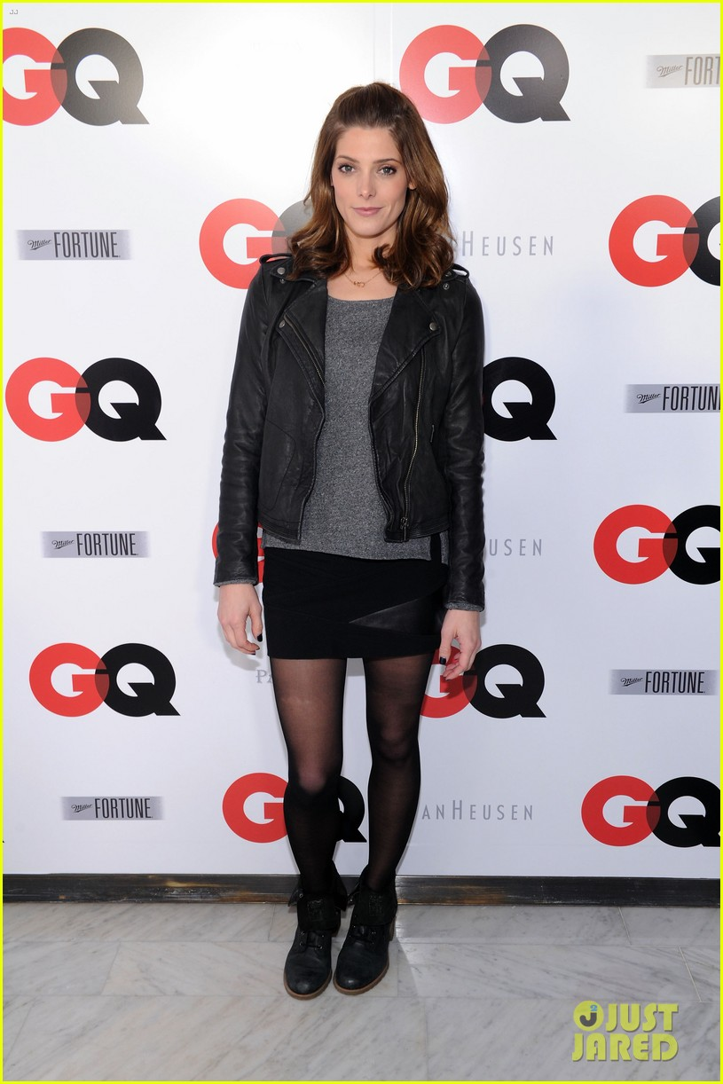 ashley greene michael b jordan gq super bowl party 2014 013045444