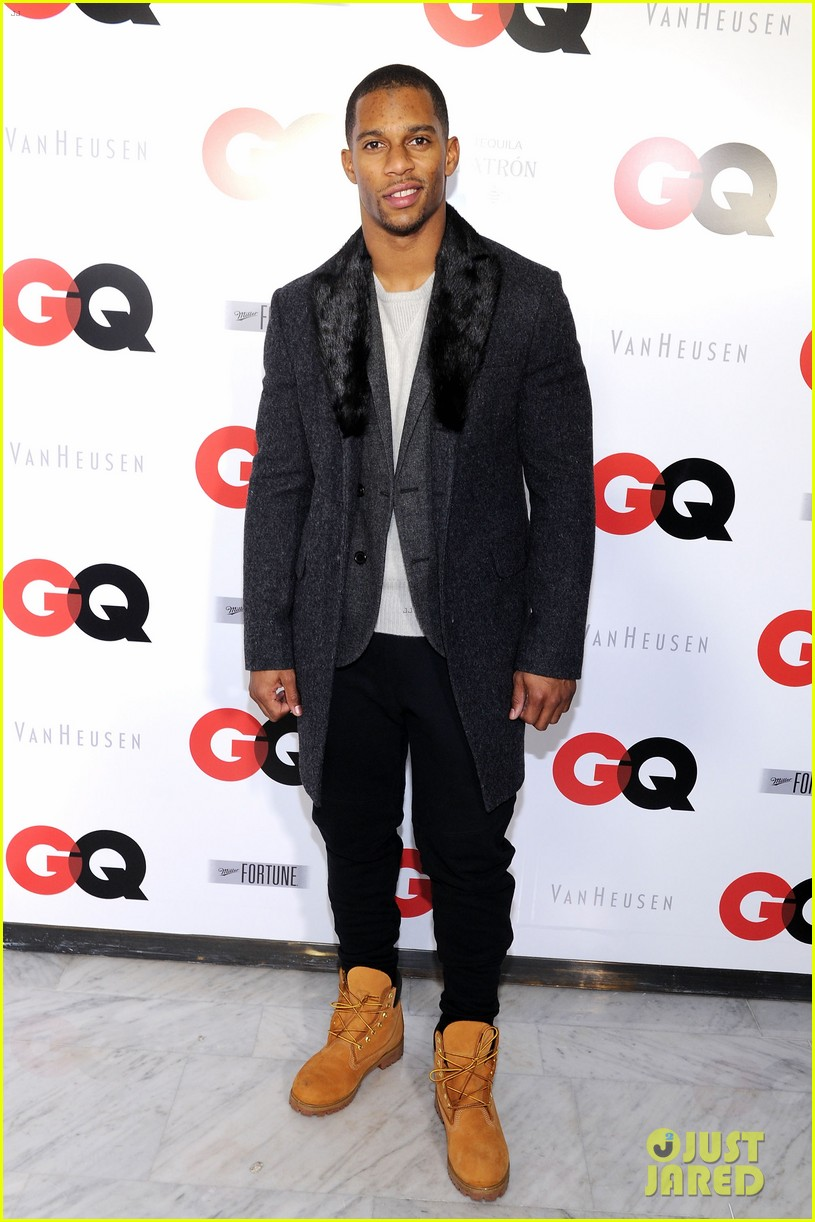 ashley greene michael b jordan gq super bowl party 2014 093045452