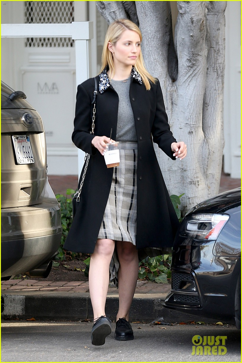 dianna agron steps out after split from nick mathers 013052592