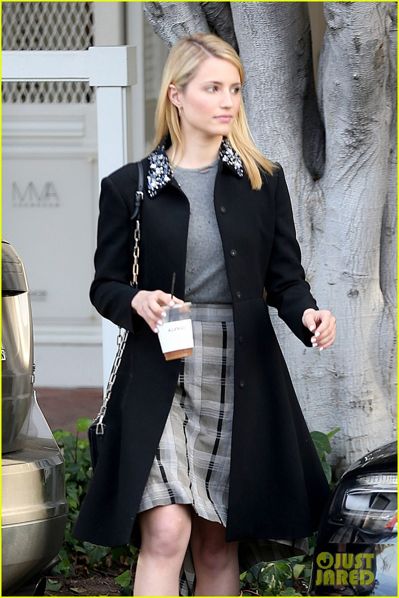 dianna agron steps out after split from nick mathers 043052595