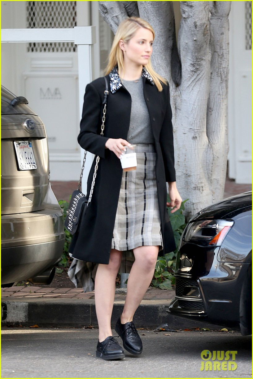 dianna agron steps out after split from nick mathers 083052599