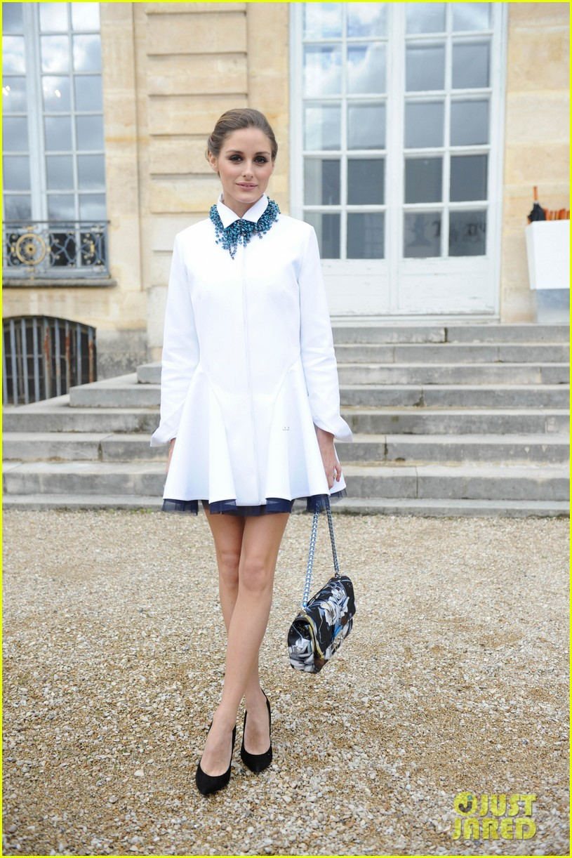 jessica alba emma roberts christian dior fashion show 03