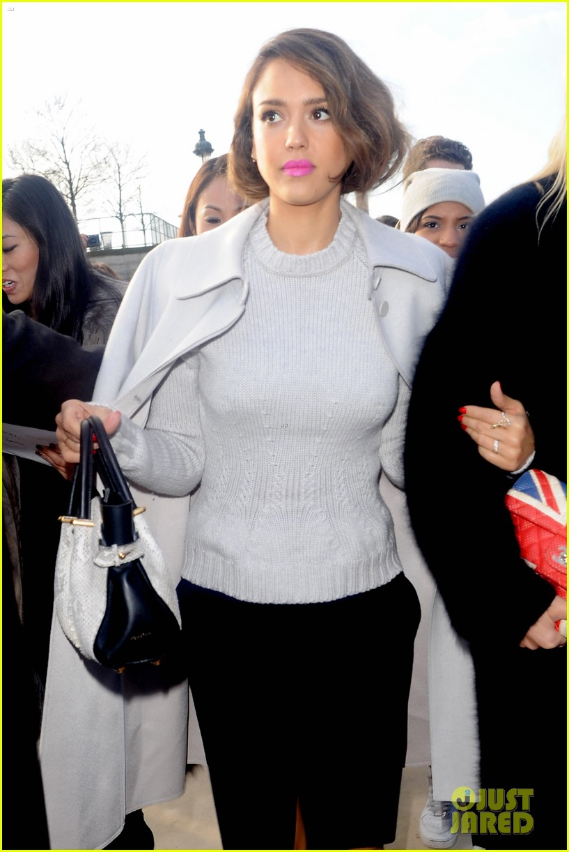jessica alba attends nina ricci show with bff kelly sawyer 073061738
