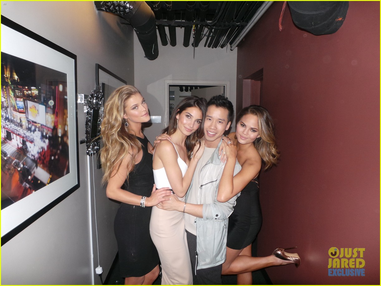 sports illustrated swimsuit gals take over jimmy kimmel 093055374
