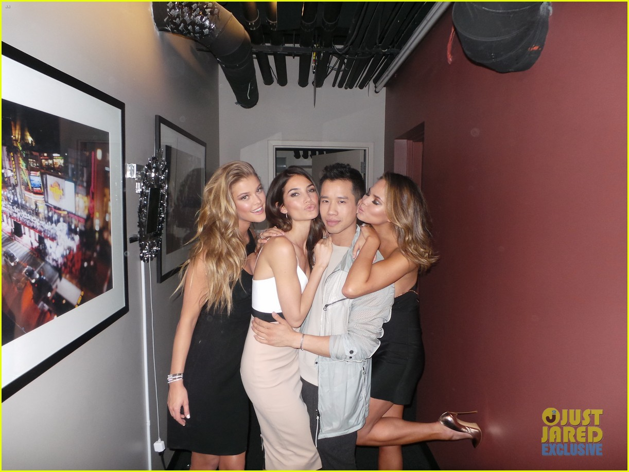 sports illustrated swimsuit gals take over jimmy kimmel 103055375
