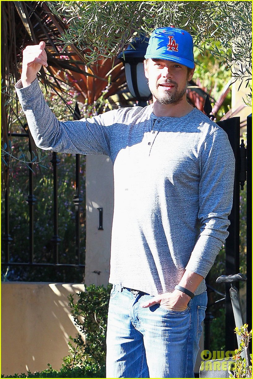 josh duhamel maybe axl north west will get together someday 133045589