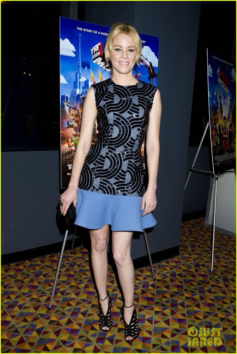 elizabeth banks chris pratt lego movie nyc screening 023048245