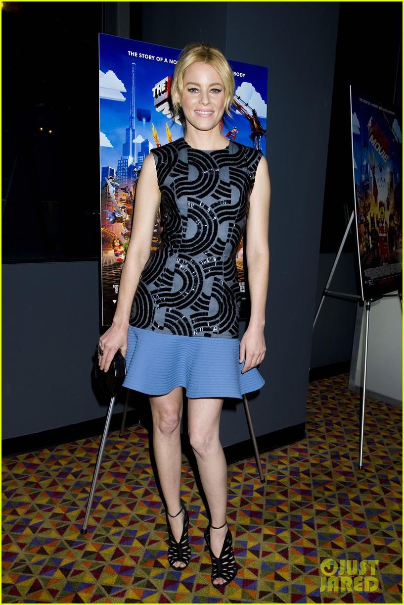 elizabeth banks chris pratt lego movie nyc screening 083048251