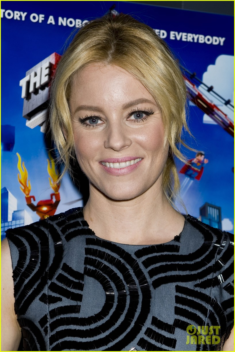 elizabeth banks chris pratt lego movie nyc screening 093048252