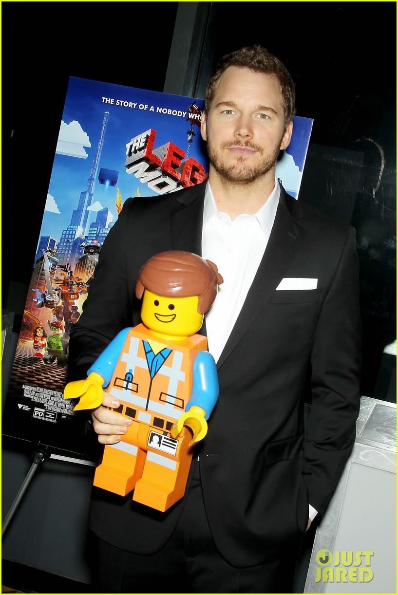 Elizabeth Banks Amp Chris Pratt Lego Movie Nyc Screening
