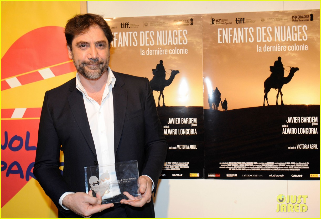javier bardem sons of the clouds paris premiere 093056124