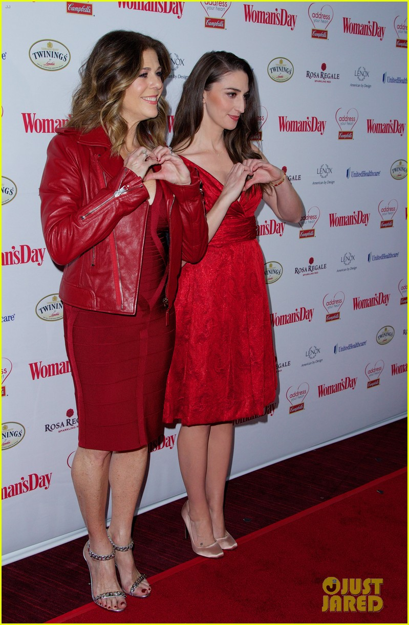 sara bareilles puts on her little red dress for womans day 033051757