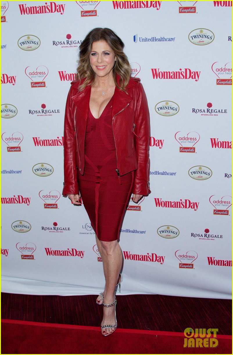 sara bareilles puts on her little red dress for womans day 053051759