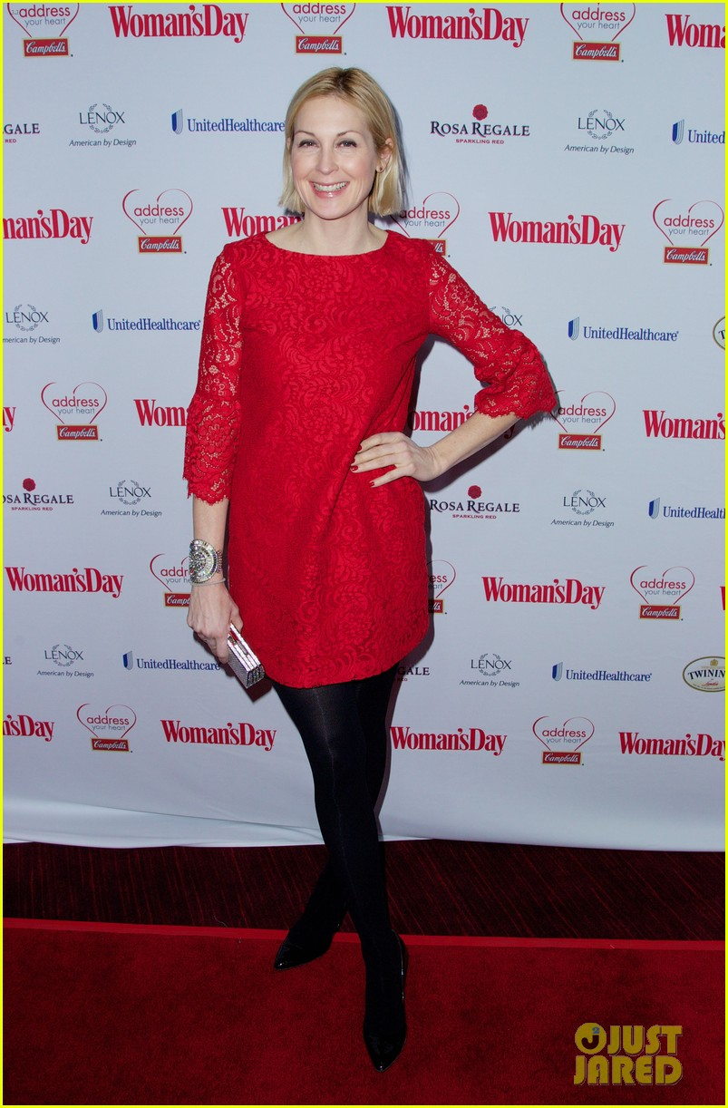 sara bareilles puts on her little red dress for womans day 123051766